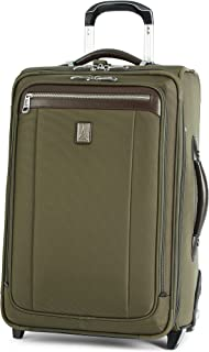 Platinum Magna 2 Carry-On Expandable Rollaboard Suiter Suitcase, 22-in., Olive