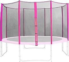 dimensions diff/érentes 4,60 M Filet de s/écurit/é de rechange vert pour trampoline de jardin 1,85 M SixBros SN-ON//1952 Taille 3,70 m 4L