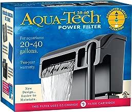 Aqua-Tech Power Aquarium Filter w/ 3-Step Filtration