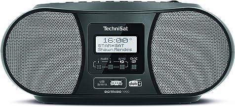 TechniSat DIGITRADIO 1990 – Stereo-Boombox mit DAB+/UKW-Radio und CD-Player..