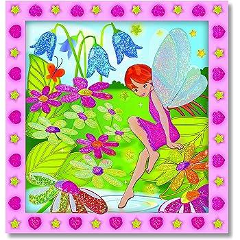 Melissa & Doug Peel and Press Sticker by Number - Flower Garden Fairy