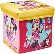Porta Objeto Banquinho Minnie Mimo Style Rosa/Amarelo