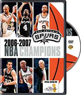 2006-2007 NBA Champions - San Antonio Spurs