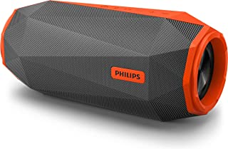 Philips Shoqbox Bluetooth Portable Speaker SB500M/00, Waterproof IPX7, 30w, shock proof - Orange color