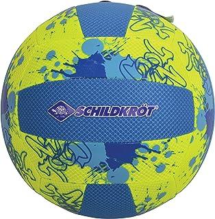 Schildkröt Funsports Premium Beach Volleyball, Mesh with Silicone Print, Sewn Cover, Excellent Flight Characteristics, Siz...