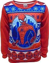 Marvel Spider-Man Niños de Navidad con Capucha Jumper