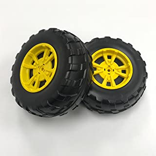 Peg Perego Gator XUV Front Wheels, Black