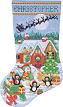 Best christmas stocking counted cross stitch kits Reviews