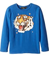 Rock Your Baby - Tiger Star Long Sleeve T-Shirt (Toddler/Little Kids/Big Kids)