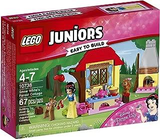 LEGO Juniors Snow White's Forest Cottage 10738 Building Kit (67 Piece)