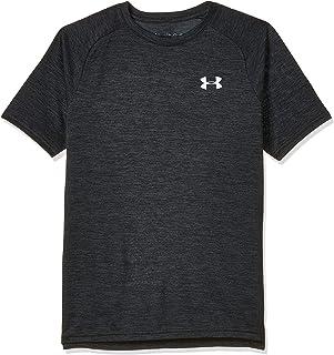 Under Armour boys Tech 2.0 Gym Workout Shirt Short Sleeve