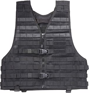 5.11 Tactical VTAC LBE Military Vest with MOLLE for Paintball Airsoft Hiking Hunting, Style 58631