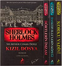 Sherlock Holmes Bütün Romanlar - 5 Kitap Set: 4 Kitaplık Kutulu Set