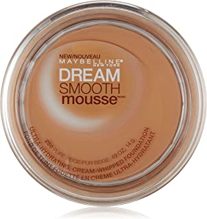 Maybelline New York Dream Smooth Mousse Foundation, Pure Beige, 0.49 Ounce