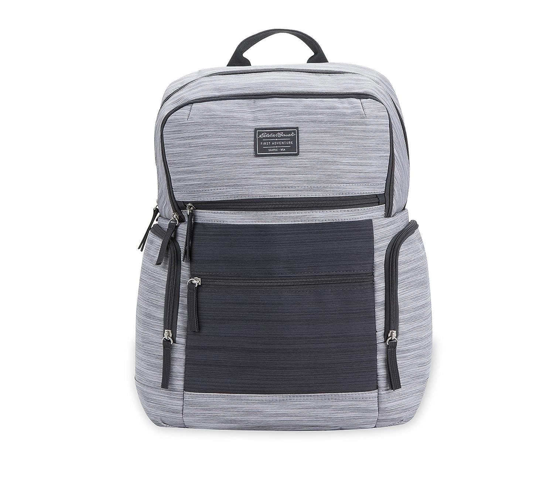 Eddie Bauer East Sound Diaper Backpack, Grey