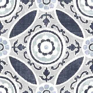 FloorPops FP2484 Sienna Peel & Stick Tiles Floor Decal, Blue