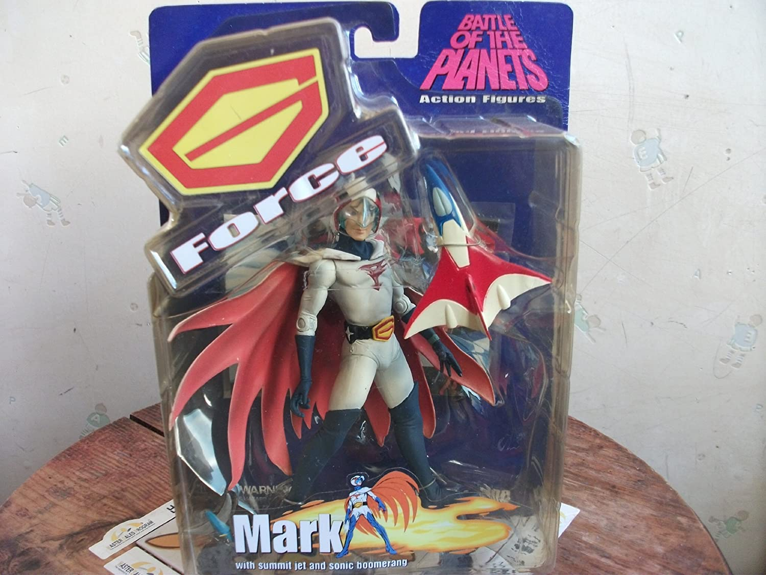 al precio mas bajo G-Force Battle of the Planets Mark Unmasked Acción Figura Figura Figura by Battle of the Planets  bienvenido a elegir