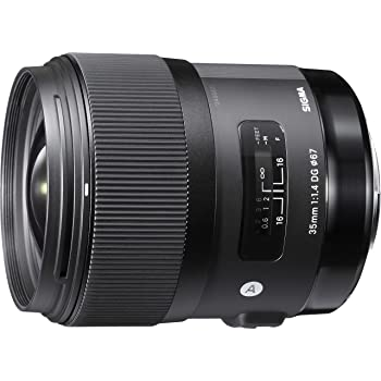 Sigma 35mm F1.4 Art DG HSM Lens for Canon, Black, 3.7 x 3.03 x 3.03 (340101)