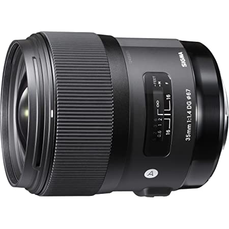 Sigma 35mm F1.4 Art DG HSM Lens for Canon, Black, 3.7 x 3.03 x 3.03 (340101)