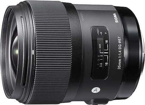 Sigma 4340954 35mm f/1.4 DG HSM Art for Canon, Black