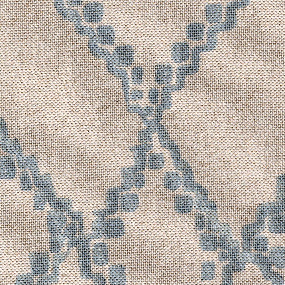 Gathered Bedskirt Medina Swedish Geometric 送料無料 激安 お買い得 キ゛フト Blue 人気ブランド多数対象 Cotton Diamond