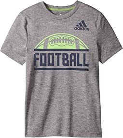 adidas Kids - Short Sleeve Split Tee (Big Kids)