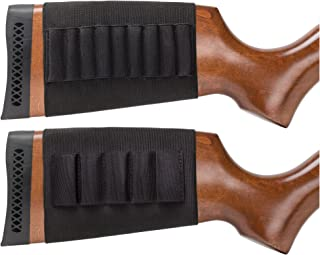 Wild Shot Butt Stock Ammo Holders for Shotgun and Rifle, Makes Reloading Faster and Convenient, 2-peice