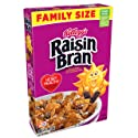 Kellogg's Raisin Bran, Breakfast Cereal, Original, Excellent Source of Fiber, Family Size, 23.5 oz Box