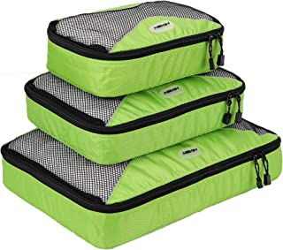 HEXN Travel Packing Cube 3 Set Durable Packing Organizer