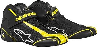 Alpinestars (2712113-15-3.5 Black/Yellow Size-3.5 Tech 1-KX Karting Shoes