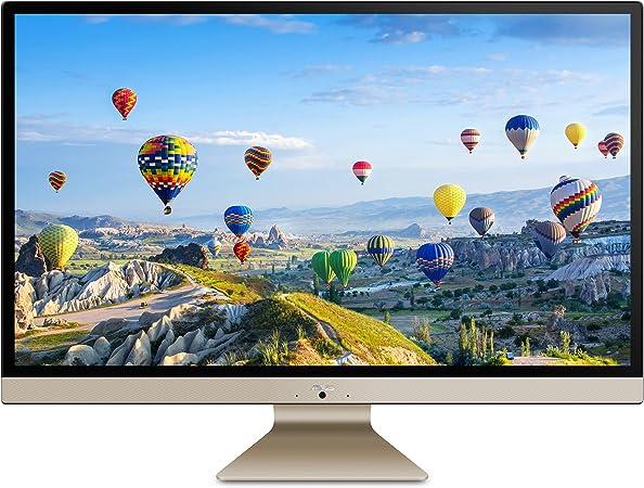 """Amazon.com: ASUS V272UA-DS501T Vivo AiO 27"""" ordenador de sobremesa con  pantalla táctil todo en uno, Intel Core i5-8250U, 8GB RAM, 1TB HDD, cámara  web HD, 802.11ac, teclado y ratón : Todo lo"""