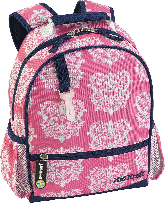 KidKraft Damask Backpack, 11 x 4.5 x 13  Small
