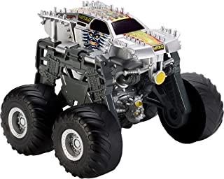 Hot Wheels Monster Jam Morphers Destruction Vehicle - 4 Years & Above, Multi Color
