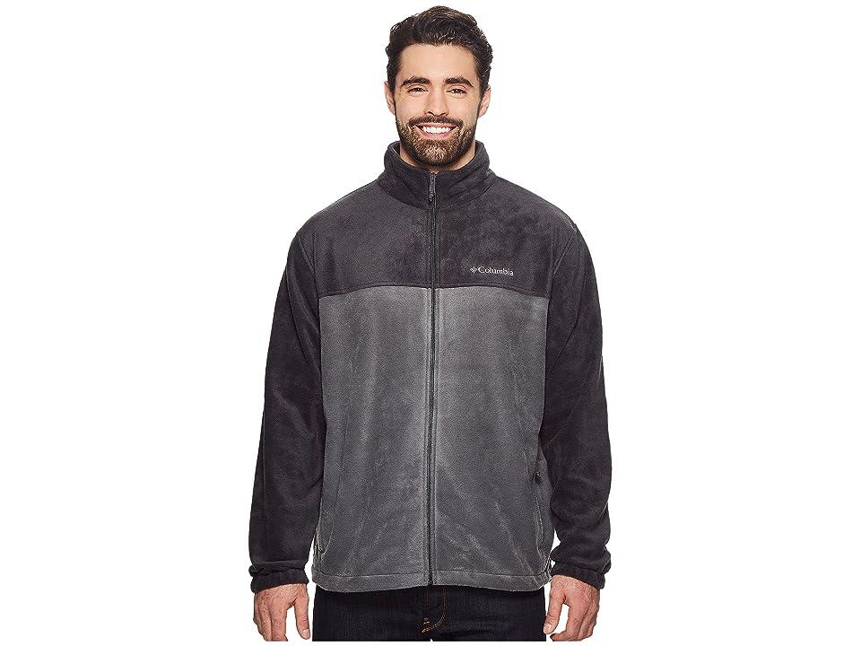 Columbia Big Tall Steens Mountaintm Full Zip 2.0 Jacket (Black/Grill) Men