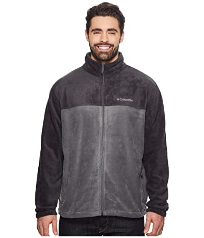 Columbia Big Tall Steens Mountaintm Full Zip 2.0 Jacket (Black/Grill) Men