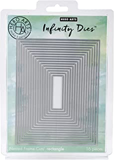 Hero Arts DI198 Infinity Dies, Nesting Rectangle