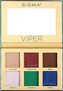 Sigma Beauty Viper Eyeshadow Palette, 6 Colors