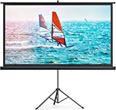 TaoTronics Projector Screen with Stand,Indoor Outdoor PVC Projection Screen 4K HD..