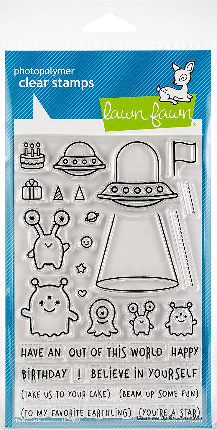 Lawn Fawn Clear Stamps LF1597 Beam Me Up