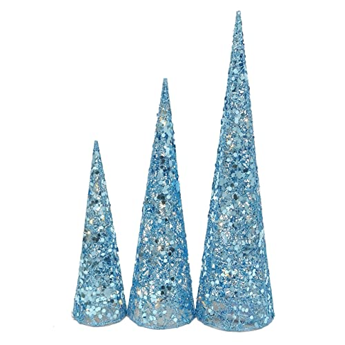 Blue Christmas Table Decorations Amazon Co Uk