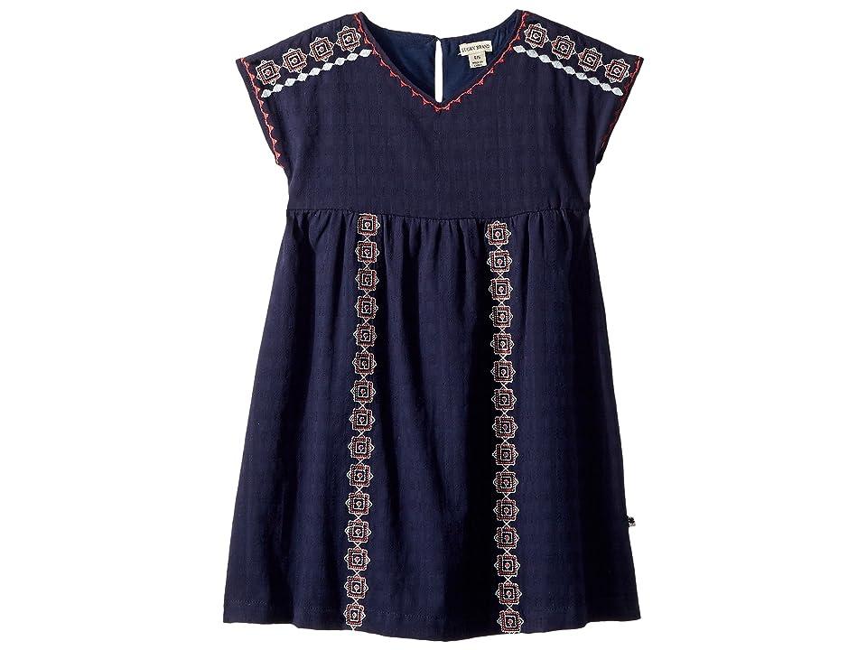 Lucky Brand Kids Sophia Dress (Little Kids) (Black Iris) Girl