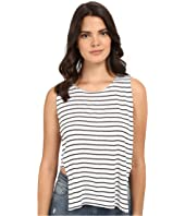 Jack by BB Dakota - Charmaine Yarn Dye Rayon Jersey Stripe Knit Top