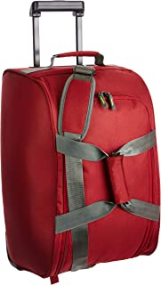Aristocrat Polyester 30 cms Red Travel Duffle (DFTDRF55RED)