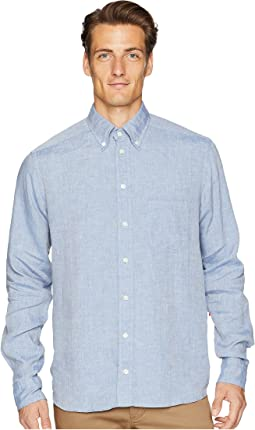 Contemporary Fit Linen Shirt