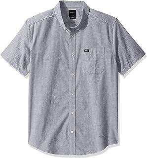 Men's Thatll Do Stretch Short Sleeve Woven Button Front...