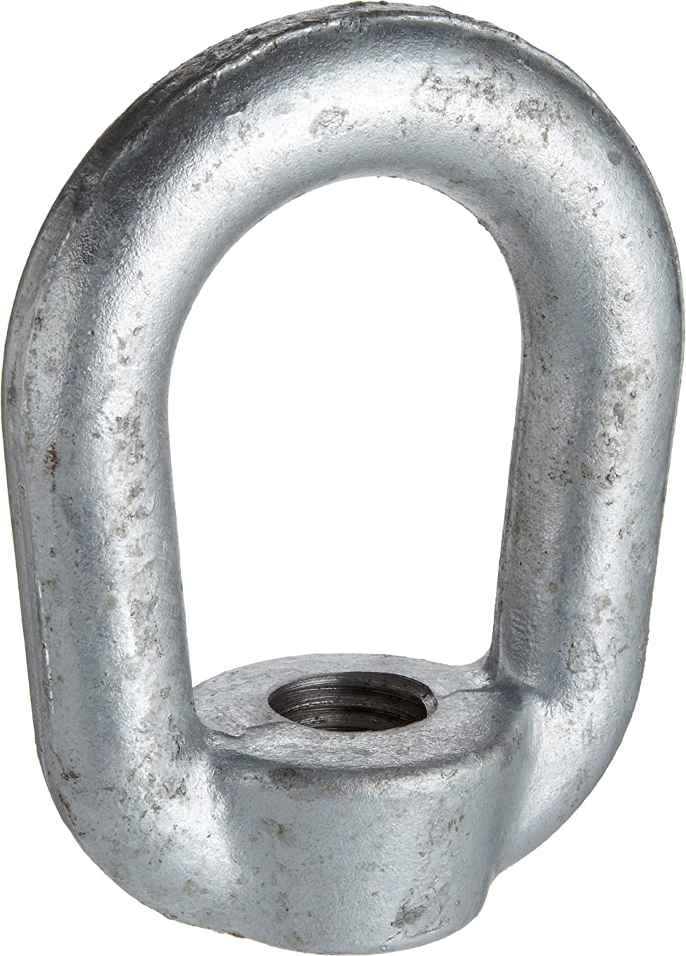 Campbell 776-G 6 Eye Nut, Drop-Forged Carbon Steel Galvanized, 7/8