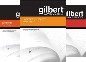 Gilbert Law Summaries (31 Book Series)