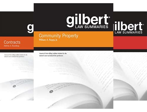 Gilbert Law Summaries (35 Book Series)
