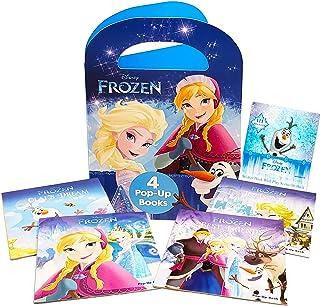 Disney Frozen Pop Up Books Set Disney Storybook Collection Bundle ~ 4 Pack Frozen Bedtime Stories Story Books with Disney ...
