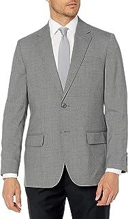 Men's Signature Glen Plaid Windowpane Tailored Fit...